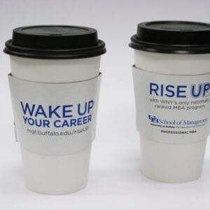 wake up cup sleeve